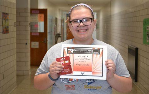 Paige Umholtz: Third Place
