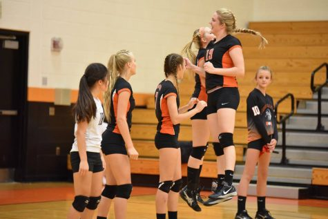 Tyrone Lady Eagles Volleyball Make History at Central