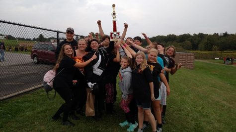 Tyrone Marching Band Places First at St. Marys Competition