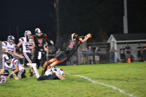 Brandon Loose diving his way into the win