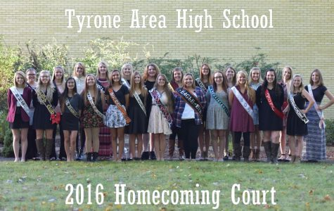Meet the 2016 TAHS Homecoming Court