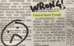 Altoona Mirror Gets Spiked by Tyrone/Central Volleyball Score