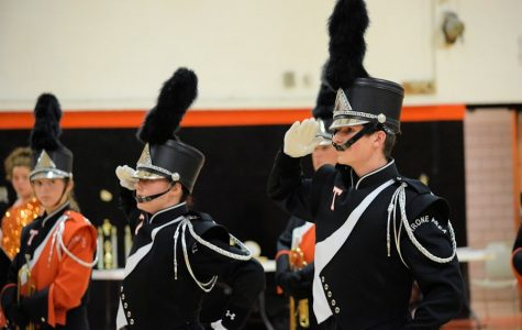 Despite Rain, Tyrone Hosts Successful Band Competition