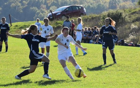 Huntingdon Spoils Girls Soccer's Senior Night