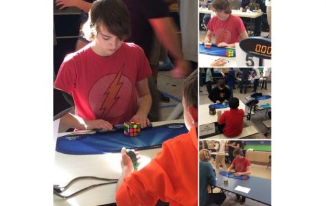 Tyrone Junior Travels to MD to Compete in Competitive Cubing Event