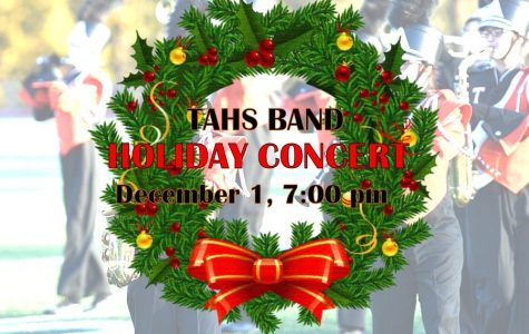 TAHS-TAMS Band Presents its Winter Concert on Thursday, December 1