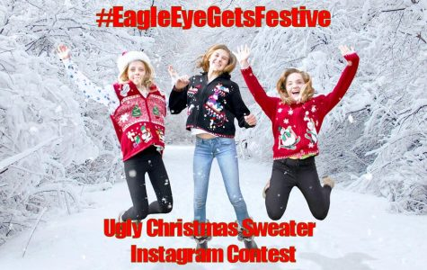 Win a Jolly Prize in the First Annual #EagleEyeGetsFestive Instagram Christmas Sweater Contest