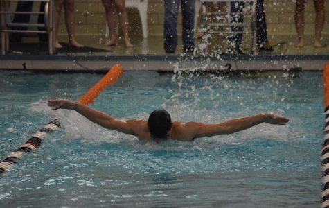 Hollidaysburg Sinks Tyrone Swim Teams; Slobodik and Decker Notch Double Wins