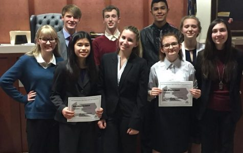 The New Team in Town: Mock Trial B Team Loses a Close Trial