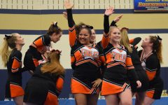 Golden Eagle Cheer Competition Squad Wraps Up Season on High Note