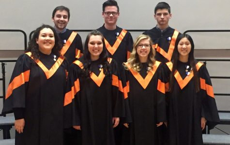 Harris and White to Compete at Regional Chorus this Friday