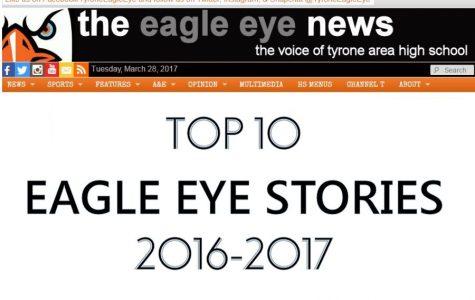 Top Ten Eagle Eye Stories of 2016-2017