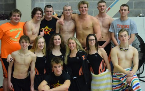 Swim Success at This Year's PIAA Swim Districts; Team Getting Stronger Each Year