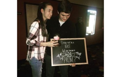 Eagle Eye Promposal Contest: The Beauty and her Beast