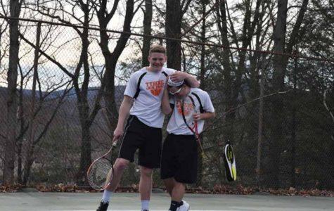 Boys Tennis Earns First Win of the Season vs. Clearfield