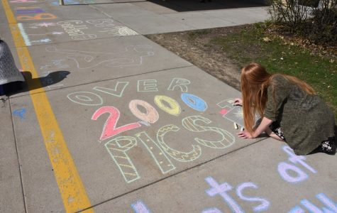 Tyrone Yearbook Staff Coloring Their Way to Sold-Out
