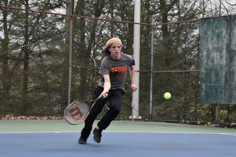 Boys Tennis Prepares For Districts With an Improved Record