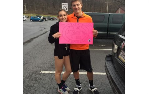 Eagle Eye Promposal Contest: A-Track-ted to You