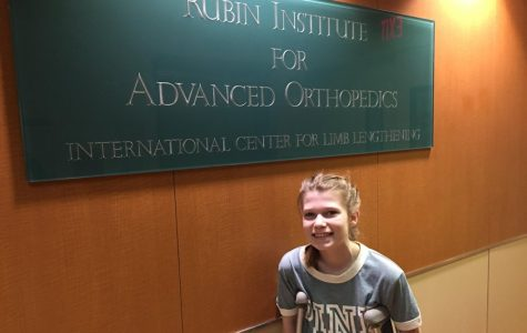 TAMS Student Endures Surgery and Physical Therapy to Lengthen Femur