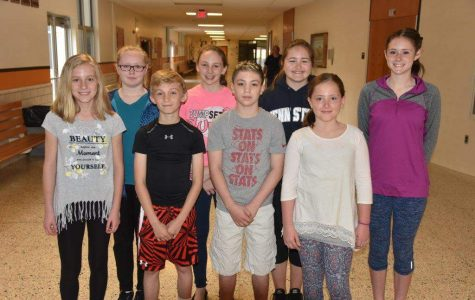 Third Marking Period Middle School Renaissance Stars
