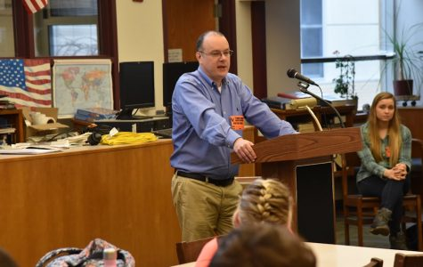 He Was There: Tyrone Students Hear an Eyewitness Account of 9/11 Attack and 1993 WTC Bombing