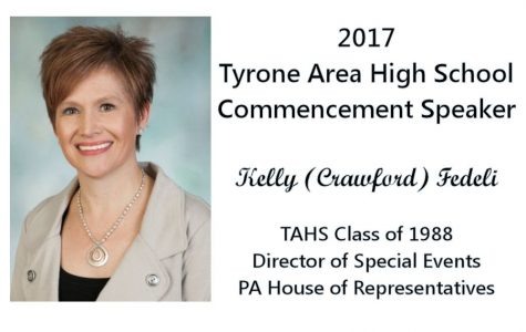 Tyrone Alumna Kelly (Crawford) Fedelli to be 2017 Commencement Speaker