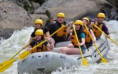 TAHS Outdoor Adventure Club Heads Down the Rapids