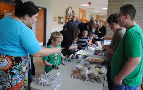 Bake sale benefits autism awareness