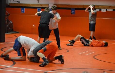 Wrestlers prepare for the 2013-14 season