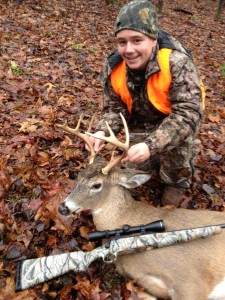 This nice buck was bagged by TAHS grad Chandler Mayhew back in 2014 when he was a freshman.