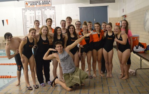 Tyrone Swimming finishes season at District Championships