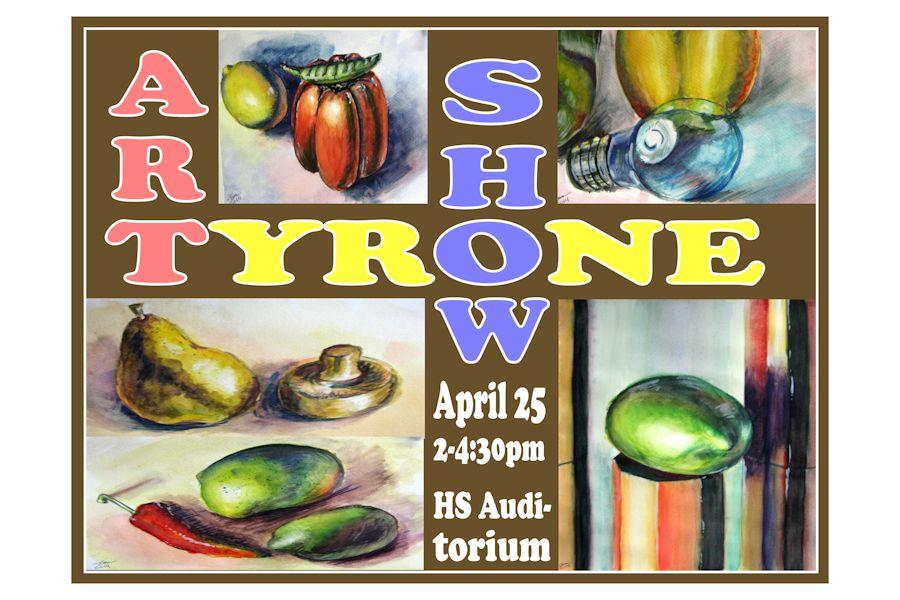 14th annual TAHS Art Show opens Thursday, April 24