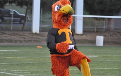 Outgoing mascot Kristian Cowher reflects on his time as the Golden Eagle