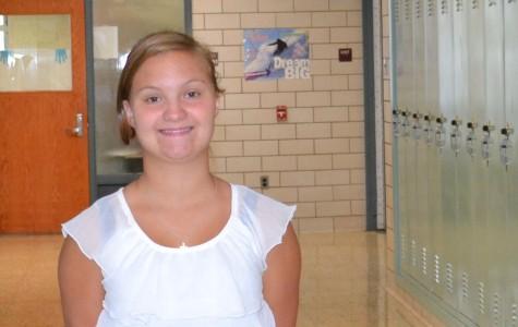 Freshman of the Week: Naomi Stonebraker