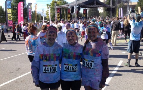 "TAHS students run the ""Happiest 5K on the Planet"""