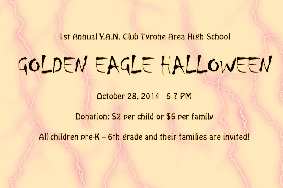 TAHS YAN club to sponsor community Halloween event on Oct 28