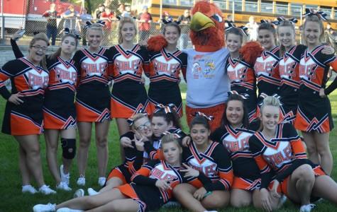 TAHS Varsity Cheerleading competition season preview