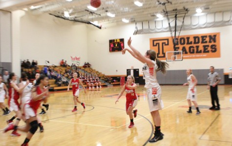 Tyrone Lady Eagles cruise to 73-45 win over the Clearfield Lady Bison