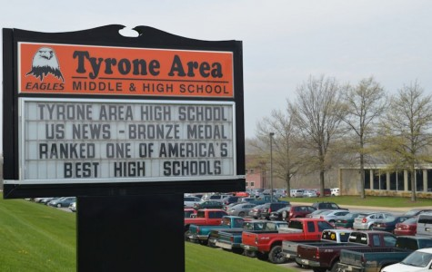 Tyrone Area High School has been on the US News List of America's Best High Schools