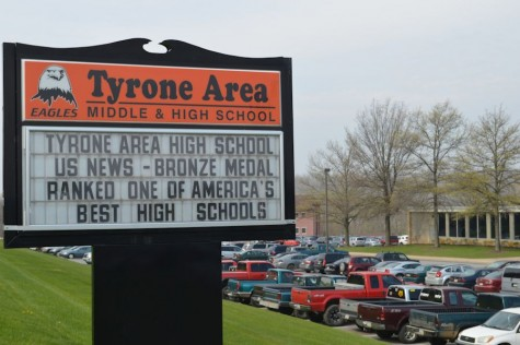 Tyrone Area High School has been on the US News List of America
