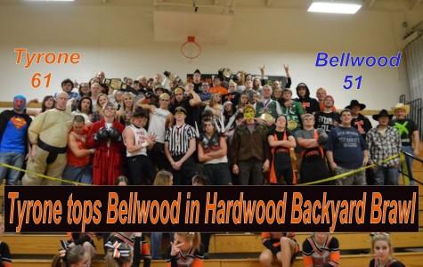 Tyrone wins hardwood version of backyard brawl 61-51
