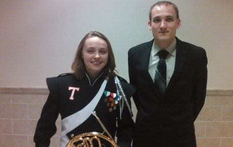 Senior Molly LaPorte moves on to Regional Band Competition