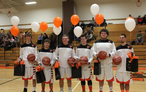 Photo Flash: Boys Basketball Senior Night