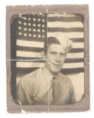 Hayden Walk, shortly before his deployment in 1944