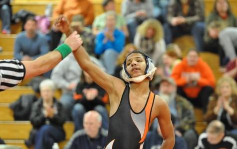 Freshman Hicks takes top 12 in PA Junior Wrestling Championships