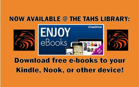 Tyrone HS library offers free e-book downloads to all students