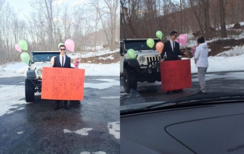 TAHS promposal contest: Ice cream surprise!