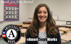 Teacher/AmeriCorps volunteer Chelsey Markel is making a difference at TAHS
