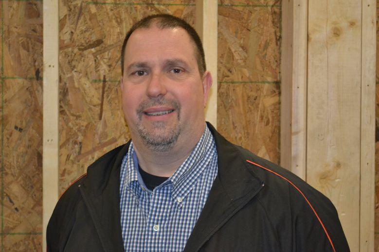 TAHS carpentry teacher Dan Plummer