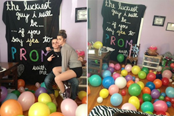 TAHS Promposal contest: A room full of balloons! – Tyrone ...